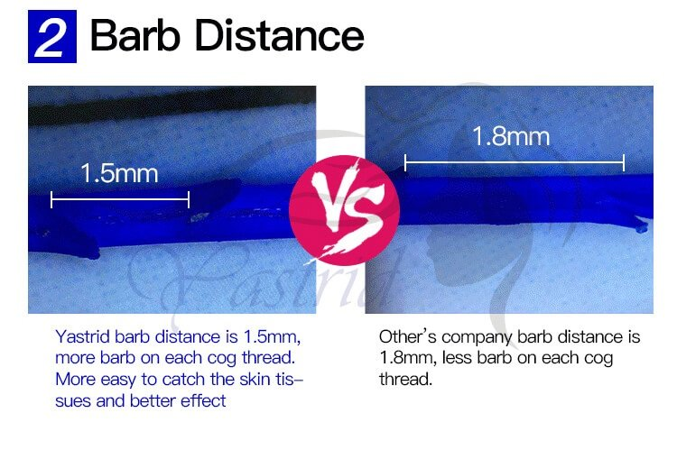 Barb Distance