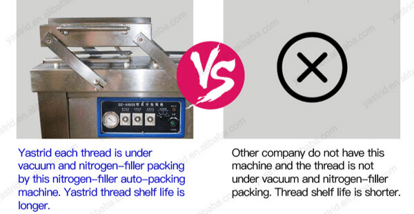 Vacuum and Nitrogen Packing